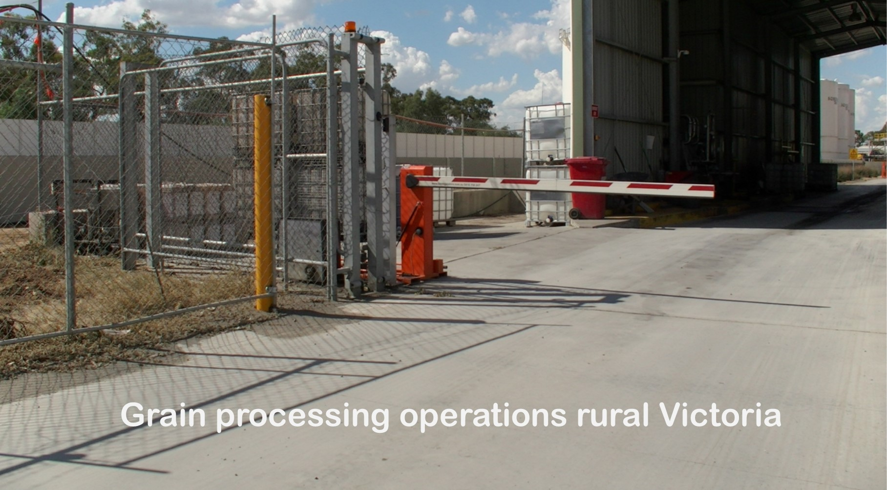 Processing Operations Boom Gate Hire